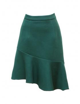 Solace Skirt Petroleum Green