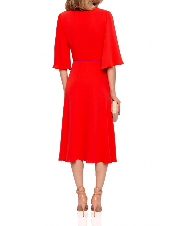 Rochie cu garnitura contrastanta | Nissa