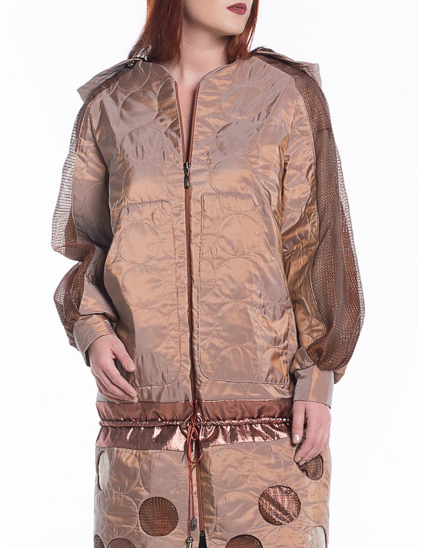 Jachetă matlasată sport-couture