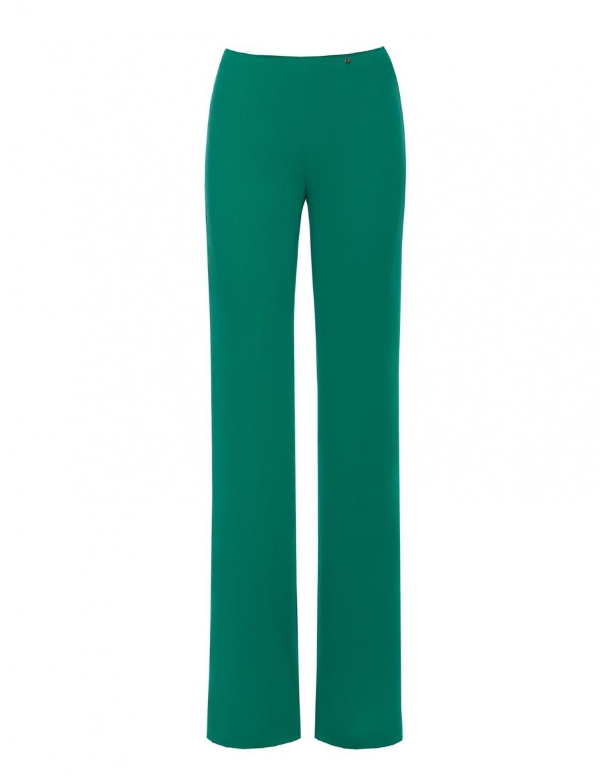 Pantaloni din voal cu talie inalta | Nissa