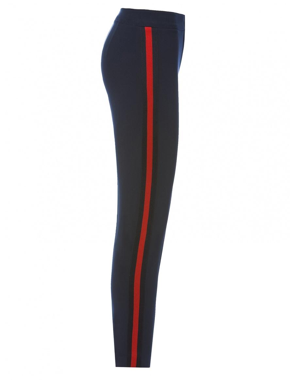 Pantaloni cu vipusca in contrast | Nissa