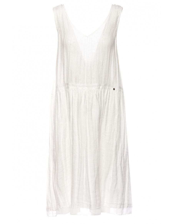 Rochie din in cu detaliu la spate | Nissa