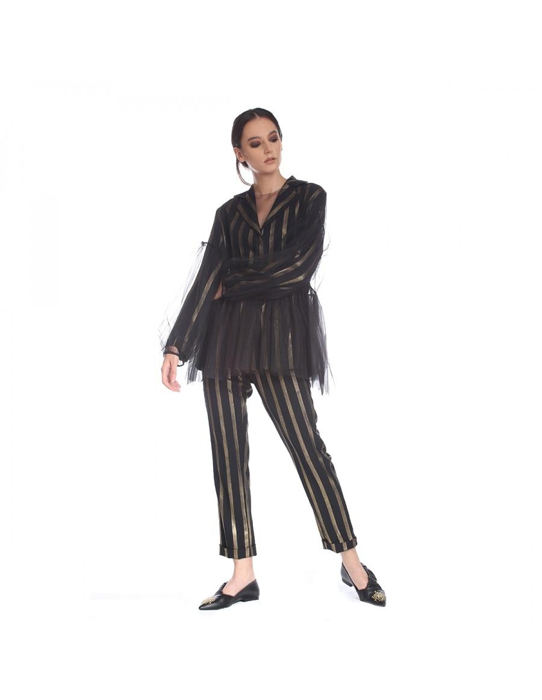 Bluza oversized din tul | Silvia Serban | Molecule F