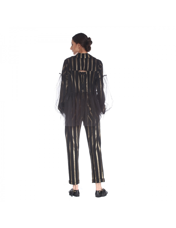 Pantaloni cu dungi | Silvia Serban | Molecule F